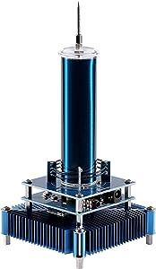 Joytech Music Tesla Coil Acrylic Base Shell Arc Plasma Loudspeaker Wireless Transmission Experiment Desktop Toy Model (YS08)