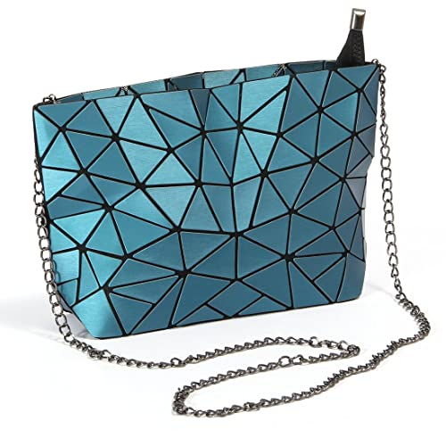 dc1aaef7bb1c HotOne Geometric purse PU leather chain crossbody purse clutch purses for  women