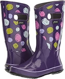 Bogs Kids - Sketched Dots Rain Boot (Toddler/Little Kid/Big Kid)