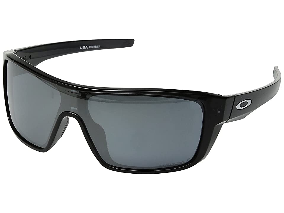Oakley Straightback (Black Ink w/ Prizm Black Polarized) Athletic Performance Sport Sunglasses