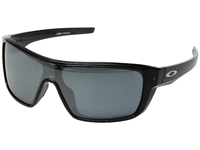 Oakley Straightback (Black Ink w/ Prizm Black Polarized) Athletic Performance Sport Sunglasses