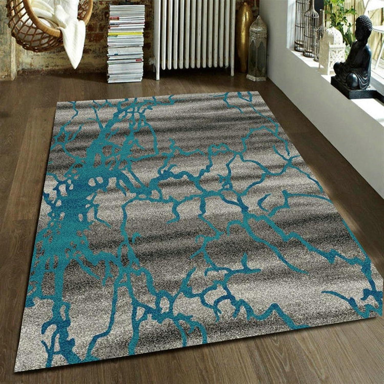 Pattern rectangular carpet mat The carpet for the living room Simple carpet Bedroom Tea table blanket Mats beside the bed-L 80x150cm(31x59inch)