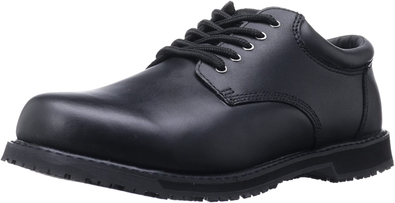 Converse Men'S Slip-Resistant Oxfords Black Black