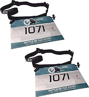 Pack X2 UD PORTADORSAL Running EKEKO Challenge Ajustable, Running, Triatlon, Marathon Carreras Y Races EN General.
