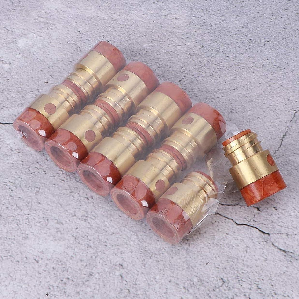 接地十ボトル10pcs 500A溶接ガンチップホルダー、コネクタープラグ溶接ガンアクセサリーガスチップホルダー、ガスシールド溶接トーチ用業界