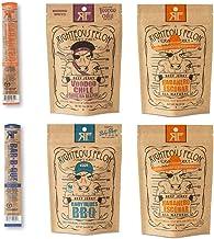 Righteous Felon Beef Jerky Bundle - Spicy Beef Jerky Sampler - Craft Beef Jerky & Meat Sticks - High-Protein, Low-Sugar Healthy Snacks | 6 Count (2oz bags)