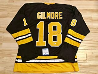 Adam Sandler Autographed Signed Boston Bruins Jersey (Size XL) Happy Gilmore Beckett BAS Cert