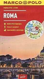 Cartina Michelin Roma.Amazon It Mappa Di Roma Centro Trastevere Cartina Geografica E