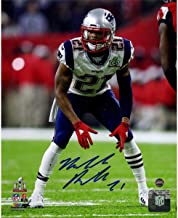 Malcolm Butler New England Patriots Signed Super Bowl 51 8x10 Photograph - Steiner Sports Certified - Autographed NFL Photos