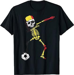 Belgium Pirate Patriotic Dabbing Belgium Soccer Jersey Shirt