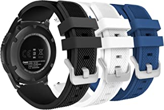 MoKo Band Compatible with Samsung Galaxy Watch 3 45mm/Gear S3 Frontier/Classic/Galaxy Watch 46mm//Huawei Watch GT2 Pro/GT ...