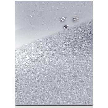 Magnete rost, 50 x 110 cm Colours-Manufaktur Magnettafel inkl in 4 Verschiedene Gr/ö/ßen und 18