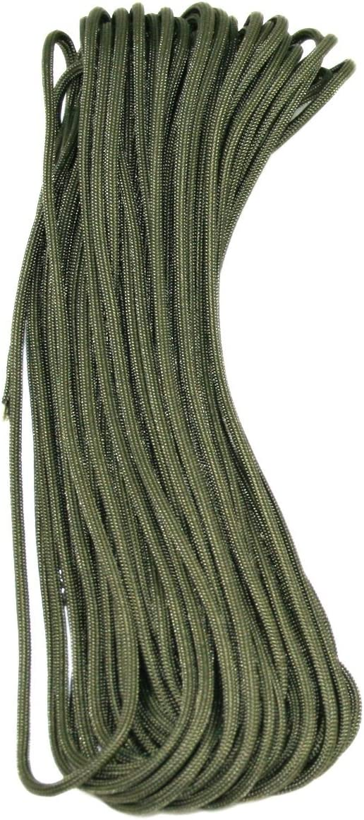 25' Feet Type III Limited time cheap sale Mil-c-5040h Nylon 25+ Cord Paracord 550 35% OFF Colors