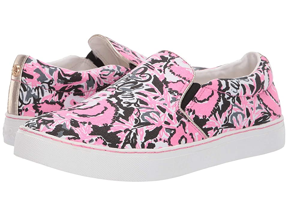 Lilly Pulitzer Julie Sneaker (Hibiscus Pin) Women