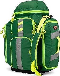 Statpacks G3 Perfusion Green, EMS Medic Hybrid Backpack, Side Sling, Shoulder Bag, Ergonomic, Lightweight ALS Trauma Bag f...