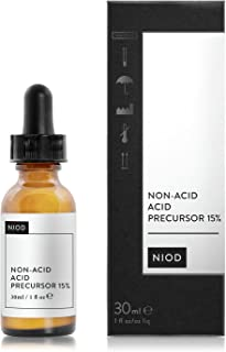 NIOD Non-acid Acid Precursor 15% 30ml, increases the skin's water-retention capacity—essential with enhanced skin turnover.