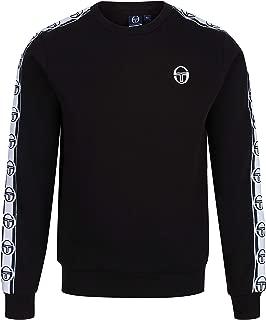 Sergio Tacchini Delaco Crew Neck Sweat Shirt   Black/White