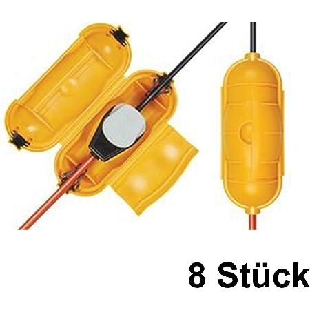 Brennenstuhl Safe Box Schutzkapsel Für Kabel Big Ip44 Outdoor Gelb 1160440 8 Safe Box Big Ip44 Outdoor Gelb Business Industry Science