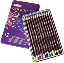 Derwent Coloursoft Pencil Tin, Assorted Color