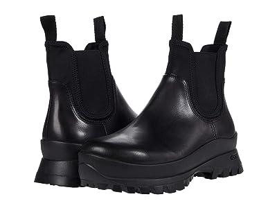 Loeffler Randall Tara Weather Boots (Black/Black) Women