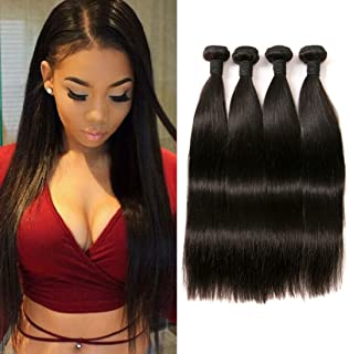 Brazilian Hair Virgin Straight 400g Brazilian Hair Weave Virgin Human Hair Extensions Cheap 14 16 18 20 Inch