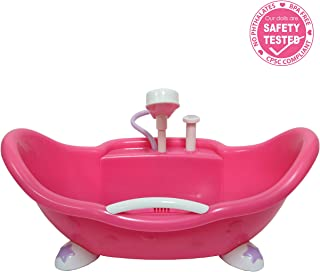 JC Toys Adorable Lil' Cutesies Bathtub with Shower Fits Most Dolls Up to 10
