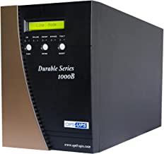 OPTI-UPS DS1000B Durable Series 6-Outlet Online Uninterruptible Power Supply, 700W