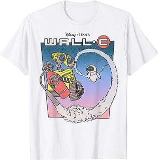 Disney Pixar Wall-E Fly Eve Retro Distressed T-Shirt