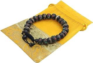 KayJayStyles Tibetan Wrist Mala ~ Yak Bone, Turquoise, Coral, Copper, White Metal, Brass ~ Healing Bracelet Free Mala Bag