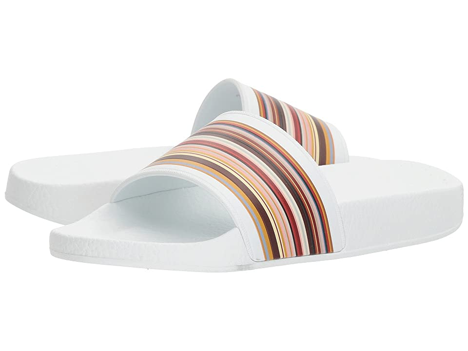 Paul Smith Rubina Stripe Slide (White) Women