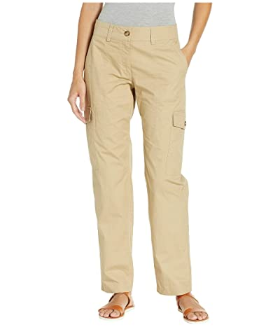 MICHAEL Michael Kors Cargo Big Pocket Pants (Khaki) Women