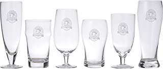Maverick D5541 Connoisseur 6 Piece Beer Connoisseur Glass Set, Clear Glass