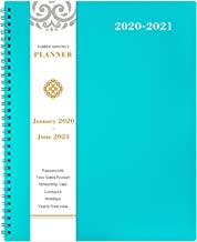 2020-2021 Monthly Planner – 18-Month Planner with Tabs & Pocket & Label,..
