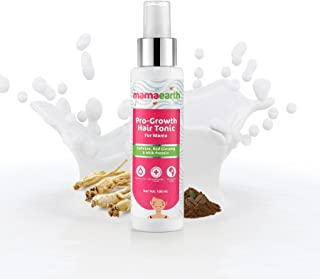 Mamaearth ProGrowth Hair fall Control Tonic 100ml with Korean Red Ginseng, Milk Protein and Caffeine. No Alcohol