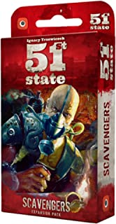 Wydawnictwo Portal POP00368 51St State Scavengers Board Game
