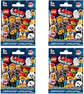 LEGO Minifigures - The Movie Series 71004 (Four Random Packs)