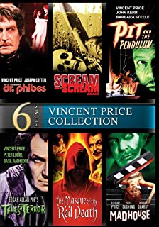 Vincent Price: 6 Movie – Digitally Remastered