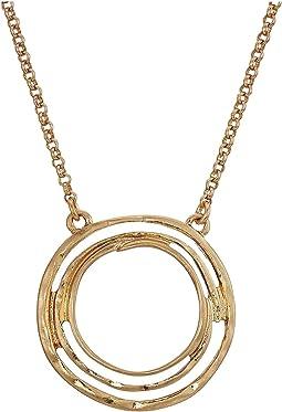 The Sak - Small Swirl Pendant Necklace 16