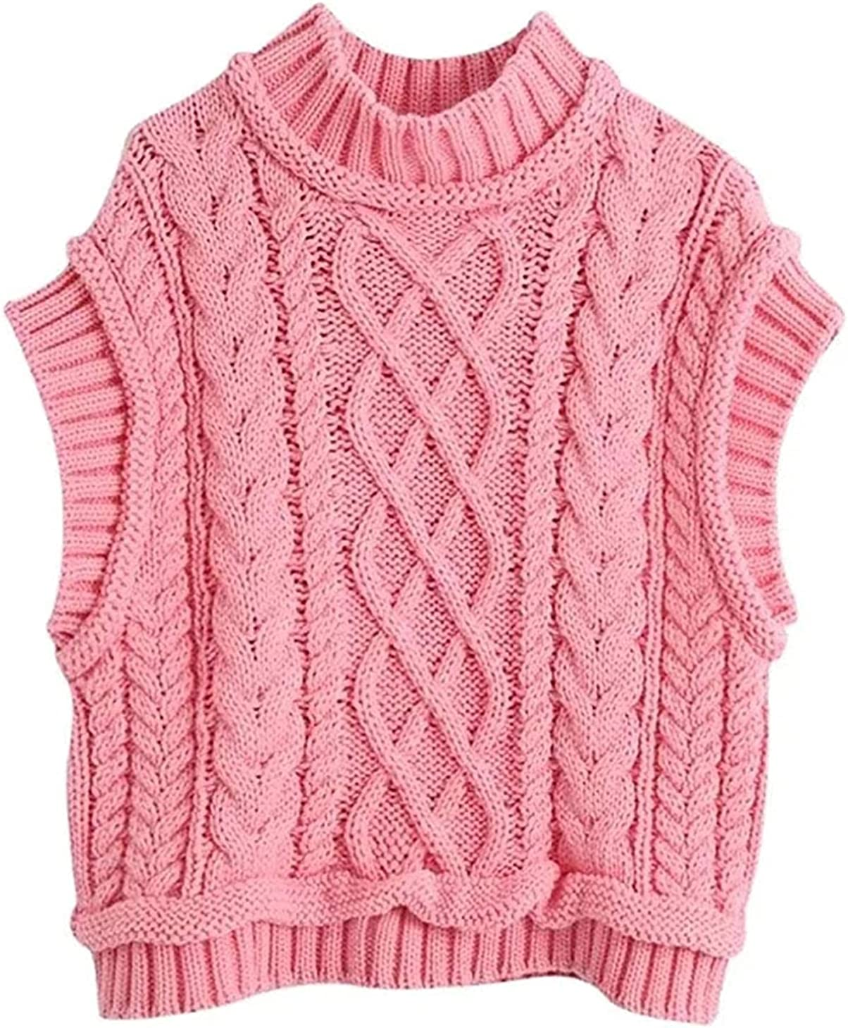 Women Fashion All stores are sold O Neck Solid Sleevel Sweater Max 61% OFF Knitting Female Twist