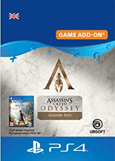 Assassin's Creed Odyssey - Season pass - Season Pass Edition | PS4 Download Code - UK Account