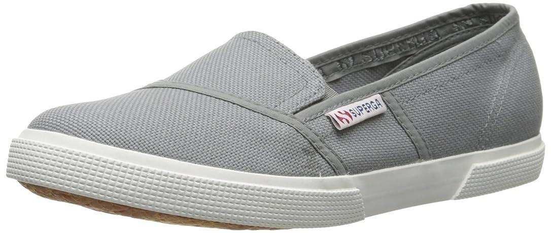 雇用者雪だるまを作るナインへSuperga 2210 Cotw Grey Sage Ankle-High Cotton Slip-On Shoes - 8.5M / 7M