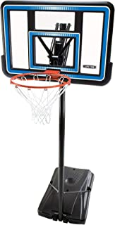Lifetime 90023 Portable Basketball System, 44 Inch Backboard (Renewed)