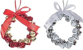 IH CASADECOR Jingle Bell Wreath (Asstd), Multi