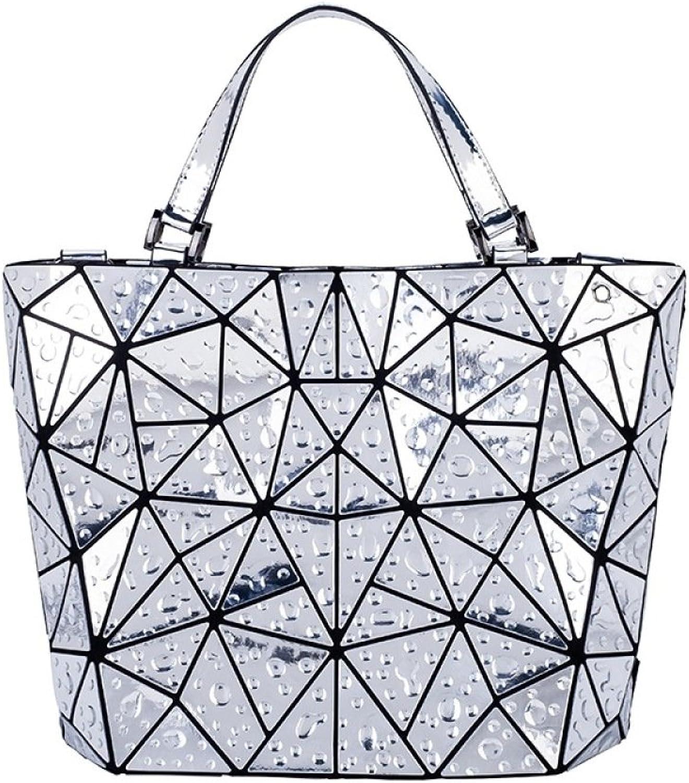 XZWNB Geflochtene Geometrische Umhängetasche Umhängetasche Umhängetasche Der Frauen Faltete Handtasche Rautenbeutel B07FVGXP93  Einzigartig 8acfd9
