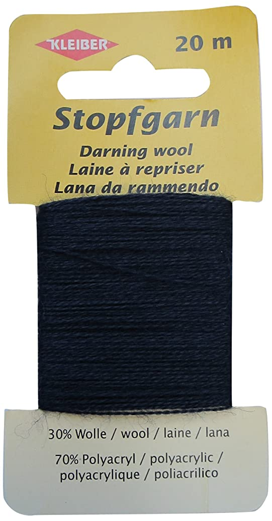 Kleiber Darning Wool, Black