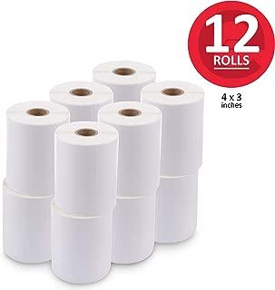 enKo (12 Rolls, 6000 Labels) 4 x 3