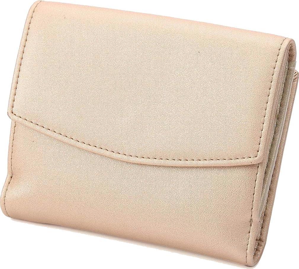 満足できる飲食店尽きる[レガーレ] 三つ折り財布 チリトリ型小銭入れ レディース コインケース チリトリ 財布 本革