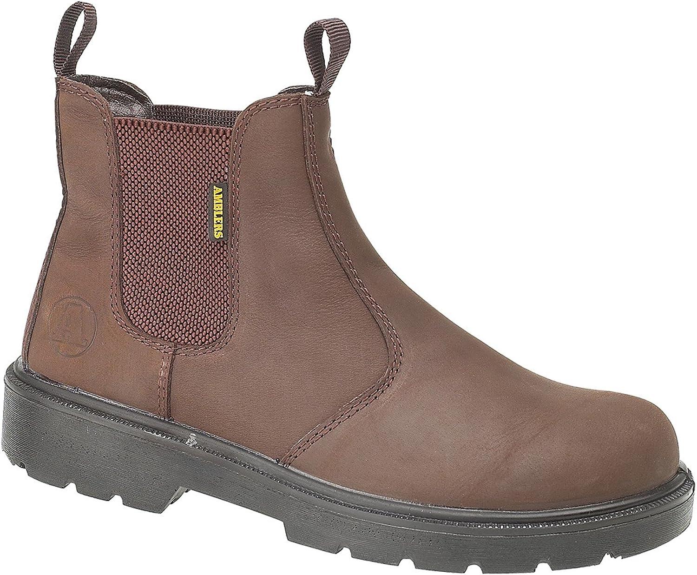 Amblers Steel FS128 Boot   Mens Boots (8 UK) (Brown)