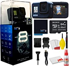 $380 » GoPro HERO8 Black Digital Action Camera - Waterproof, Touch Screen, 4K UHD Video, 12MP Photos Live Streaming, Stabilization - with Cleaning Set + 64GB Memory Card and More - Starter Bundle