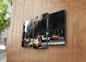 لوحة قماشية تزيينية دوز اوف مودرن 3KBPAT-1 (3 قطع) - متعددة الالوان 237HRZ1283